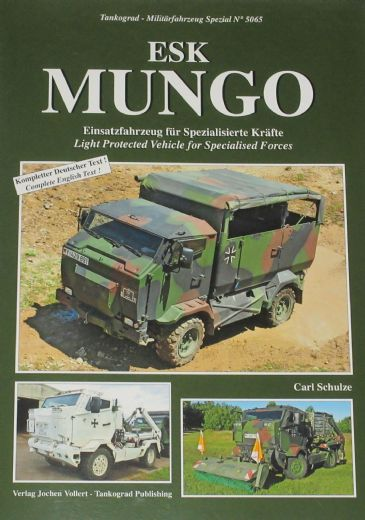 ESK Mungo, by Carl Schulze, subtitled 'Light Protected Vehicle for Specialised Forces'